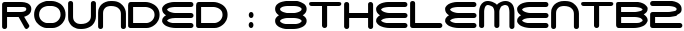 8thelementb2 English Font