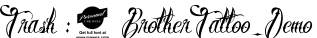 BrotherTattoo_Demo English Font